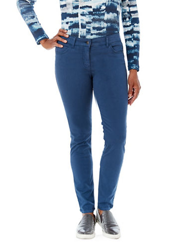 Olsen Lisa Power Stretch-BLUE-EUR 42/US 12