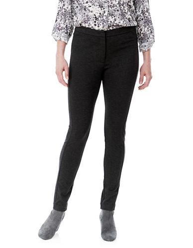 Olsen Pia Banded Pants-BLACK-EUR 46/US 16