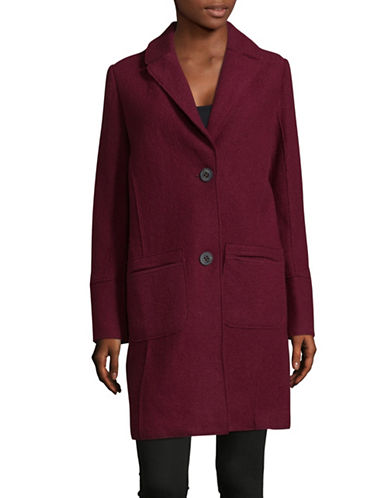 Olsen Boiled Top Coat-RED-EUR 44/US 14