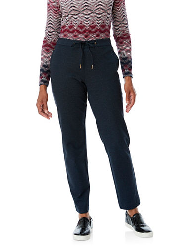 Olsen Lisa Ponte Pants-BLUE-EUR 42/US 12
