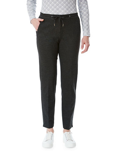Olsen Lisa Ponte Pants-GREY-EUR 44/US 14
