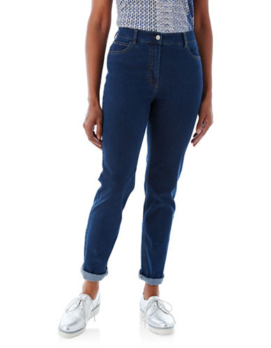 Olsen Mona Slim-Fit Jeans-DARK BLUE-EUR 46/US 16