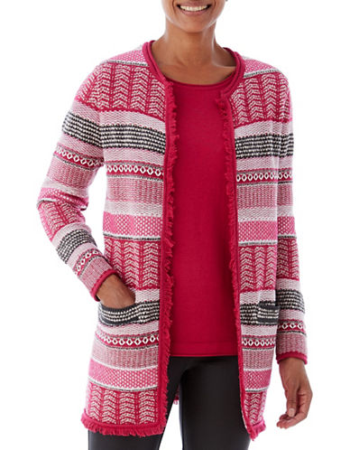 Olsen Statement Topper Cardigan-PINK-EUR 42/US 12