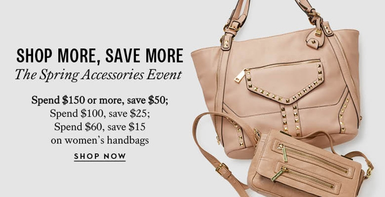 Shop More Save More Handbags