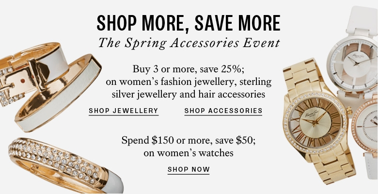 Shop more save more on accessories