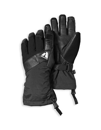 Eddie Bauer Claim Touchscreen Gloves-BLACK-Medium