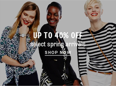 Save on spring fashion