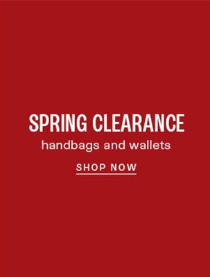 Clearance handbags and wallets