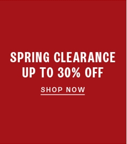 Up to 30% off clearance shoes