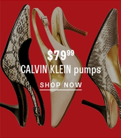 $79.99 Calvin Klein pumps