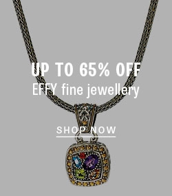 Save on Effy fine jewellery