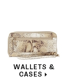 Wallets and cases