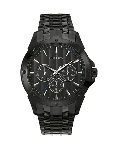 Bulova Analog Classic Collection Watch-BLACK-One Size