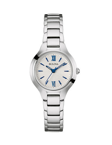 Bulova Analog Classic Collection Watch-WHITE-One Size