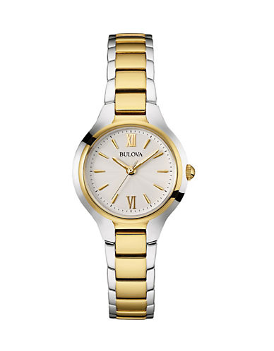 Bulova Classic Collection Two-Tone Stainless Steel Analog Watch-TWO TONE-One Size