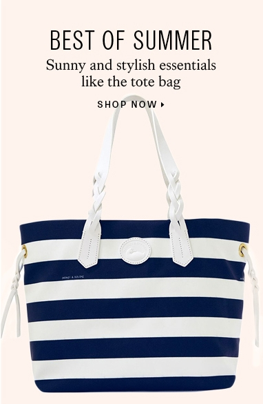 Totes and duffle bags for summer