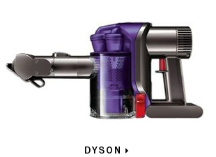 Dyson vacuums at Hudson's Bay
