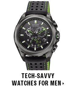 Tech-savvy watches for men