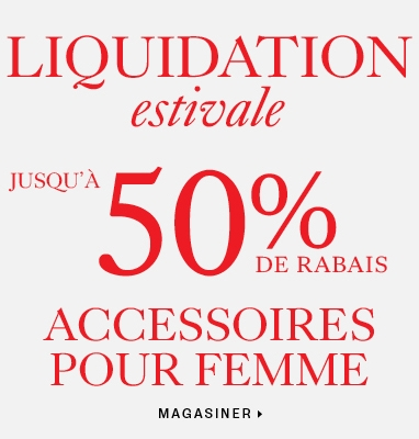Up to 50% off women's clearance accessories