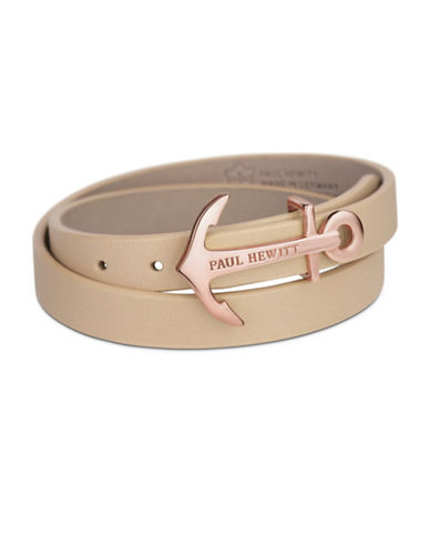 Paul Hewitt North Bound Wrap Bracelet-ROSE GOLD-Medium