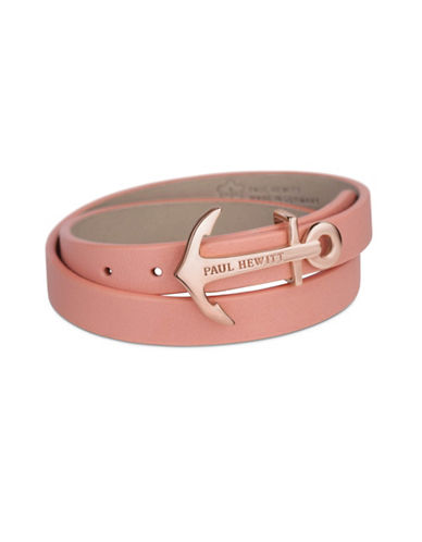 Paul Hewitt North Bound Wrap Bracelet-PINK-Small