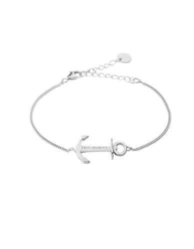 Paul Hewitt Anchor Spirit 925 Sterling Silver Bracelet-SILVER-One Size