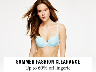 Up to 60% off lingerie