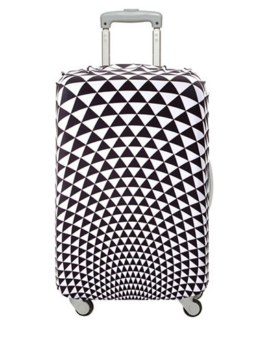 Loqi Pop Prism Medium Luggage Cover-PRINT-One Size