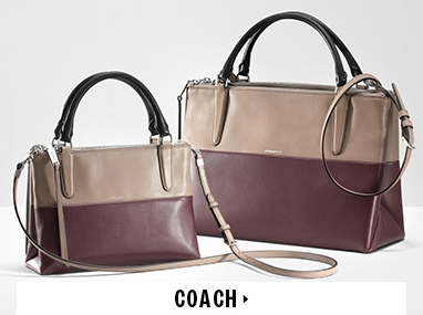 Coach handbags at Hudson's Bay