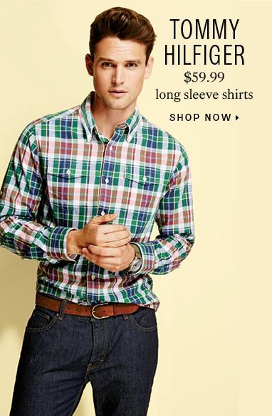 Tommy Hilfiger $59.99 long sleeve shirts