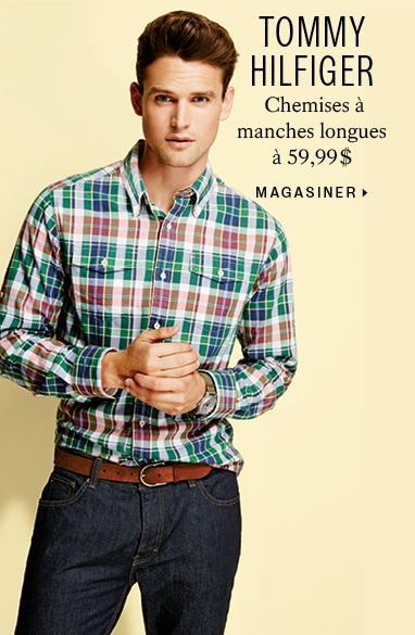 Tommy Hilfiger $59.99 long sleeve shirts