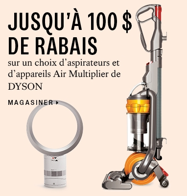Save up to $100 on DYSON