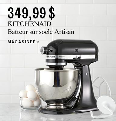 $349.99 KITCHENAID stand mixer