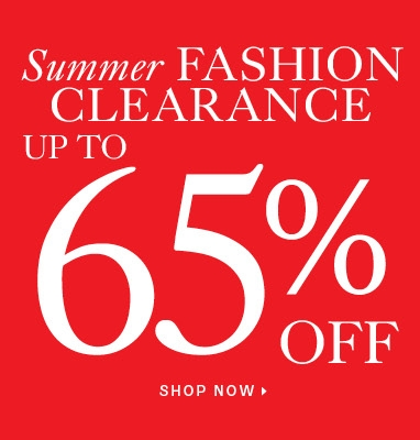 Up to 65% off women's clearance