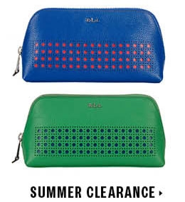 Summer clearance on handbags