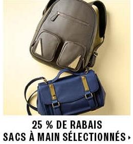 25% off select handbags