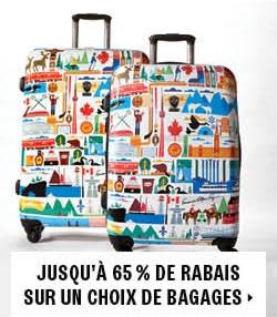 65% off luggage