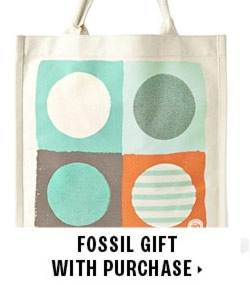 Fossil gift with purchase