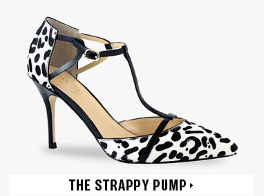 The Strappy Pump