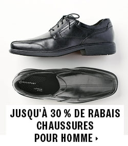 Up to 30% off men's shoes