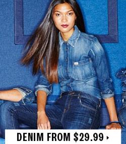 Denim from $29.99
