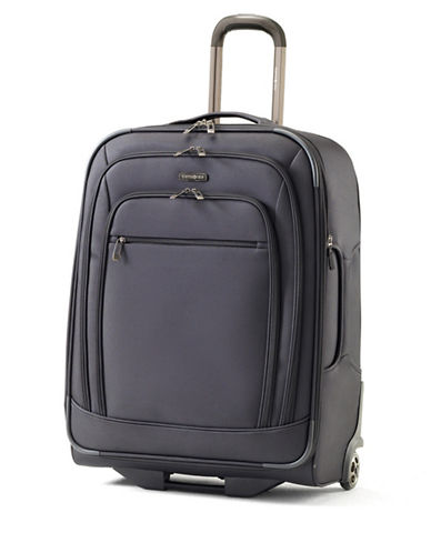 Samsonite Rhapsody Pro DLX Upright Medium Expandable Luggage-BLACK-25