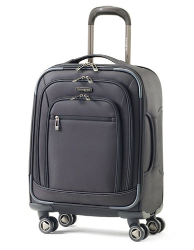 Samsonite Rhapsody Pro DLX Spinner Carry-On Luggage-BLACK-19