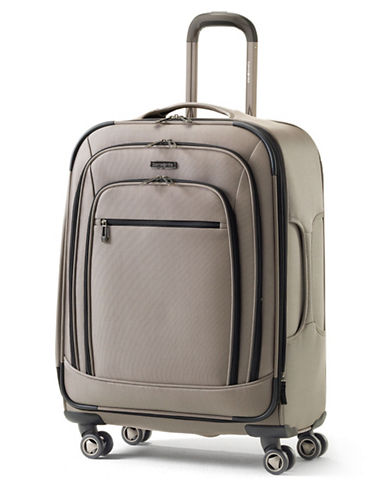 Samsonite Rhapsody Pro DLX Spinner Medium Expandable Luggage-BEIGE-25