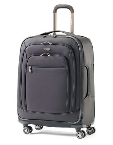 Samsonite Rhapsody Pro DLX Spinner Medium Expandable Luggage-BLACK-25