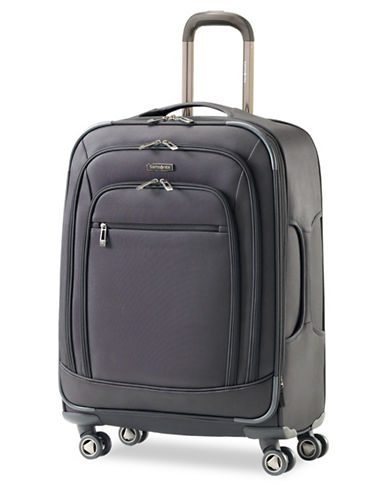 Samsonite Rhapsody Pro DLX Spinner Large Expandable Luggage-BLACK-29