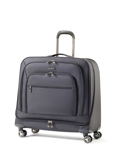 Samsonite Rhapsody Pro DLX Spinner Garment Bag-BLACK-One Size