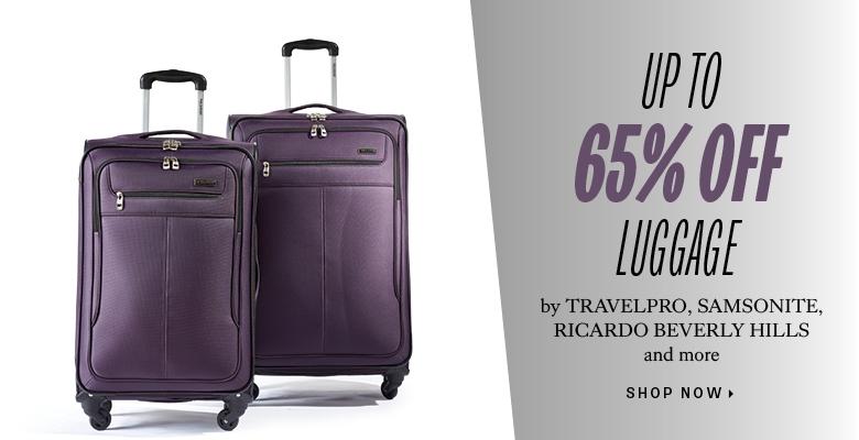 60% off select luggage
