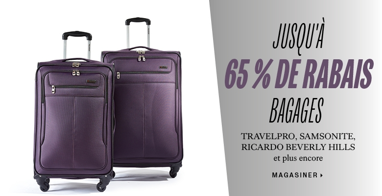 60% off select luggage