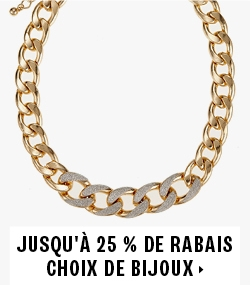 Save up to 25% on select jewellery